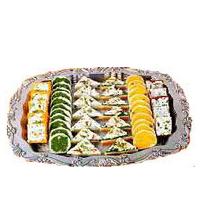 Tasty Haldirams Mixed Sweets Platter