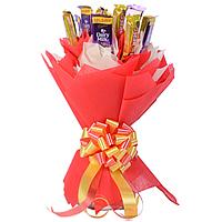 Amazing Bouquet of Delicious Cadbury Five Star with Dairy Milk Chocolates