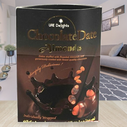 Exotic Chocolate Date Almonds