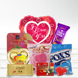 Delectable I Love You Choco Hamper
