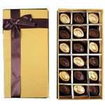 Delightful 18 Pcs. Homemade Chocolates Gift Box