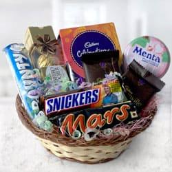 Assorted Chocolates Basket