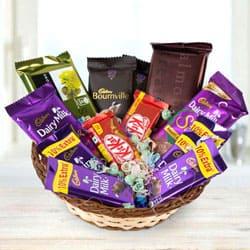 Angelic Chocolates Gift Basket