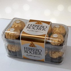 Delecious 16 pcs  Ferrero Rocher Chocolates