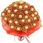 Marvelous Ferrero Rocher Choco Bouquet