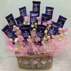 Awesome Cadbury Dairy Milk Basket