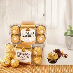 Mouth-Watering Ferrero Rocher Chocolates Box