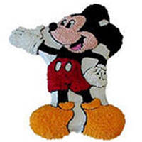 Tasty Mickey Mouse Cake