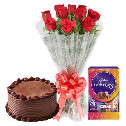Pleasing Pack of Bloom and Dessert Assort