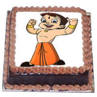 Amusing Delicacy Chota Bheem Cake