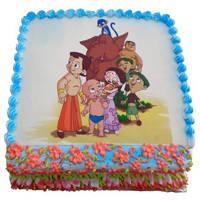 Fabulous Chota Bheem Cake