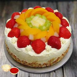 Flavor�s Fondle 1 Kg Egg-less Fresh Fruit Cake