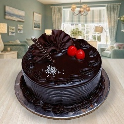 Delicious 1/2 kg Chocolate Truffle Cake