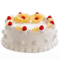 Yummy Pineapple Flavor Cake