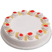 Anniversary Delicacy Vanilla Cake
