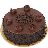 Chocolate-Coated Anniversary Cake