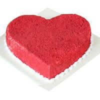 Award-Winning Red Velvet Cake in Heart-Shape