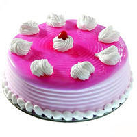 Blossoming Love Strawberry Eggless Cake