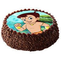 Chota Bheem Cartoon Cake