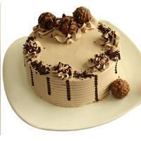 Zestful Ferrero Rocher Chocolate Cake