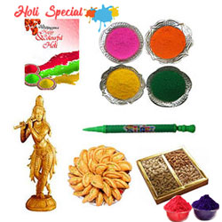 The Legend Sandalwood Krishna of Holi Gift Hamper