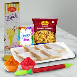 Holi with Sweets and Thandai Hamper