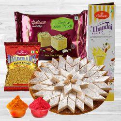Appetising Haldirams Gift Combo