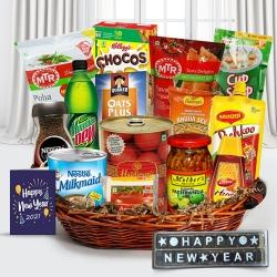 Eye Catcher for All New Year Gift Basket