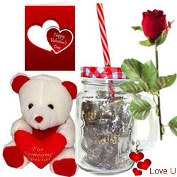 Road of Romance Valentine Gift Hamper