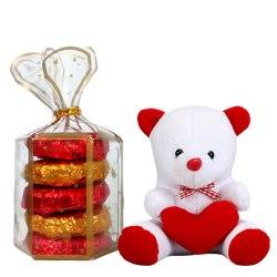 Tasty Handmade Oreo Chocolates n a Cute Teddy