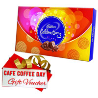 Delicious Cadbury Celebration and CCD Gift Voucher
