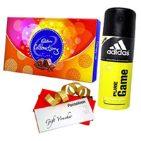 Tasty Chocolate with Deo and Pantaloons Voucher