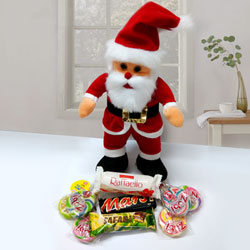 Santa Claus with Imported Chocolates