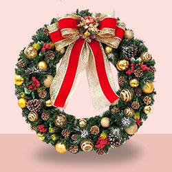 Embellished Christmas Wreath