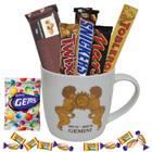 Attractive Gemini Zodiac Sign Printed Mug with Chocolate Hamper