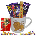 Alluring Leo Sun Sign Printed Mug and Chocolate Hamper