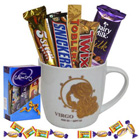 Exotic Virgo Sun Sign Printed Mug and Chocolate Hamper