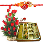 Delightful Rose Assortment with Sweets