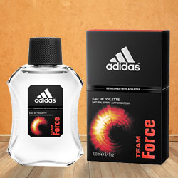 Smell Best with Adidas Team Force EDT for Men