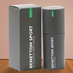 Appealing Benetton Sport for Men EDT 100 ml.