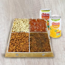 Deliciousness�s Height Dry Fruit and Beverage Assortment