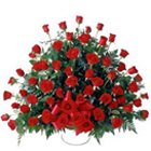 Arrangement of Dutch Roses Gift