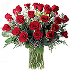 Distinctive 40 White and Red Roses Bouquet of Love