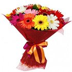 Stimulating Mixed Gerberas Bouquet
