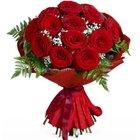 Blooming Seasons Greetings Roses Bouquet