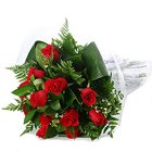 Exotic Pour Allure Red Roses Bouquet
