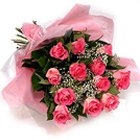 Dazzling Pink Roses Bouquet