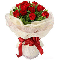Admirable Anniversary  Bouquet of Red Roses