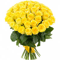 Sophisticated Bundle of�Yellow Color Roses