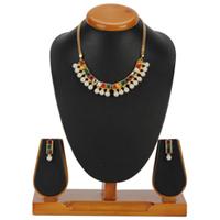 Gilding Dazzle Malini Navratna Jewellery Set from Avon